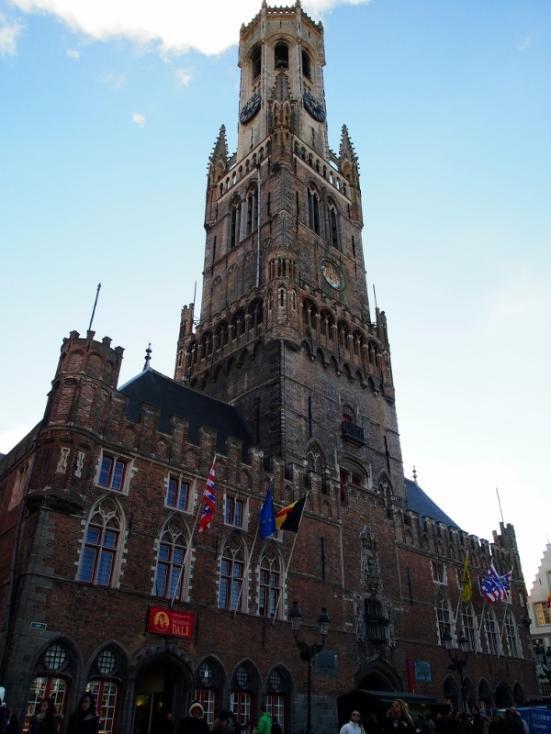 The Belfry; Bruges